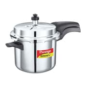 Prestige Cookers Deluxe 3.7-Quart Stainless Steel Pressure Cooker