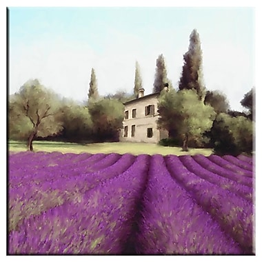 PTM Images Chateau Giclee Graphic Art on Wrapped Canvas
