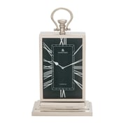 Woodland Imports Stunning Metal Table Clock