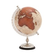 Woodland Imports The Great Metal World Globe