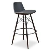 Aeon Furniture Fun, Colorful Alyssa Bar Stool (Set of 2); White