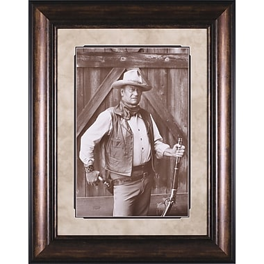 Art Effects John Wayne by Bob Willoughby Framed Photographic Print