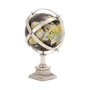 Woodland Imports The Colorful Metal World Globe