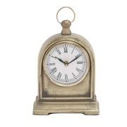 Woodland Imports Creative Styled Aluminum Table Clock