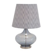 Woodland Imports The Genie's Glass Metal 27'' H Table Lamp w/ Empire Shade