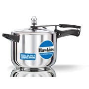 Hawkins Stainless Steel Pressure Cooker; 5.28 Quart