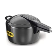 Futura Hard Anodized Pressure Cooker; 7.4 Quart