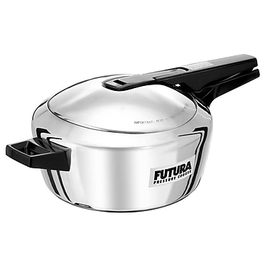 Futura Stainless Steel 5.81-Quart Pressure Cooker
