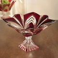 Fifth Avenue Crystal Aurora 12'' Crystal Compote Cake Stand