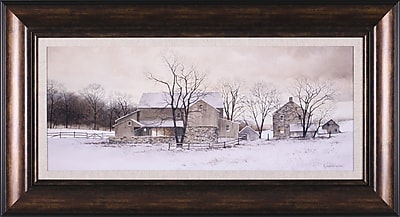Art Effects Evening Chores by Ray Hendershot Framed Painting Print WYF078276326007