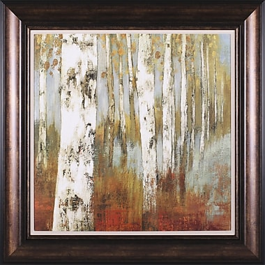 Art Effects Along The Path II by Allison Pearce Framed Painting Print