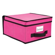 Simplify Medium Non Woven Storage Box, Fuchsia