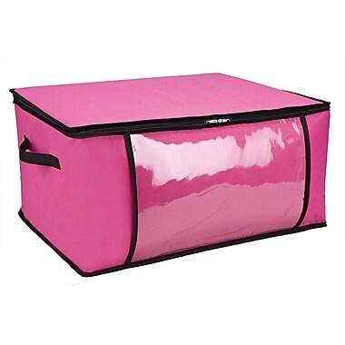 Simplify Blanket Non Woven Storage Bag, Pink