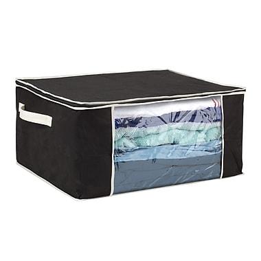 Simplify Jumbo Non Woven Blanket Bag, Black