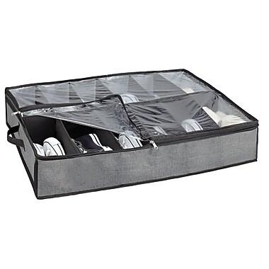 Simplify Shoe Polypropylene Organizer, Grey
