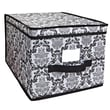 Laura Ashley Delancy Polyester Storage Box, Large