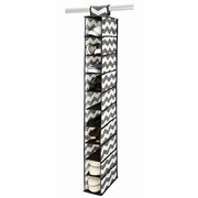 The Macbeth Collection Polypropylene HouseCandie 10 Shelf Shoe Organizer