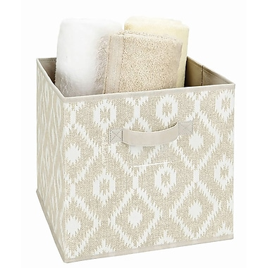 The Macbeth Collection Collapsible Non Woven Storage Cube