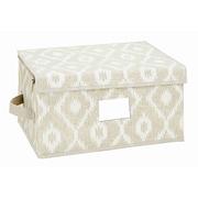 The Macbeth Collection Zippered Non-Woven Medium Storage Box