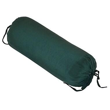 Yoga Direct Silk Neck Pillow, Forest Green