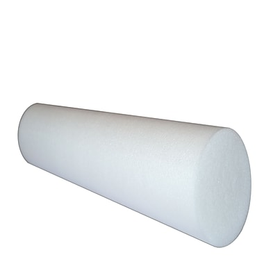 Yoga Direct 36'' Foam Roller, White