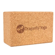 Dragonfly Yoga Cork Block