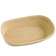 """Schneider™ Rattan Bread Proofing Basket, 12 1/2"""" x 7"""", Beige"""