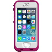 LIFEPROOF iPhone 5S Nuud Case, 2105-03 Blaze Pink, Clear