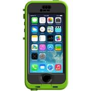 LifeProof iPhone 5S Nuud Case, Dark Lime, Smoke