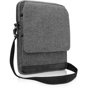 "V7® Vertical Messenger Bag ForiPad Air, Up to 10.1"" Tablet, Gray"