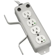 Tripp Lite 10' 4-Outlet Medical-Grade Power Strip With Cord Wrap And Drip Shield