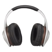 Denon Music Maniac AH-D7100 Over-Ear Headphones, Mahogany/Black/Silver