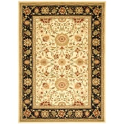 Safavieh Lyndhurst Collection Ivory/Black Area Rug Polypropylene, 9' x 12'
