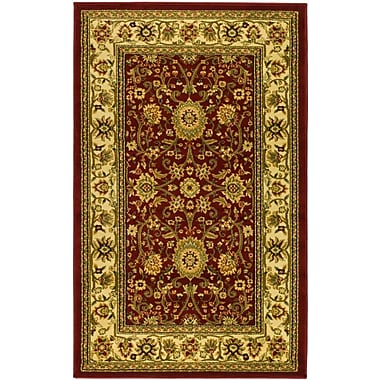 Safavieh Lyndhurst Collection Area Runner Red/Ivory Polypropylene