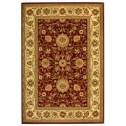 Safavieh Polypropylene Lyndhurst Collection Red & Ivory Area Rug, 8' x 11'