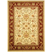 Safavieh Lyndhurst Collection Ivory and Red Area Rug Polypropylene 8' x 11'