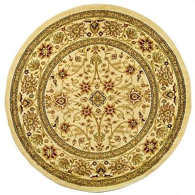 Safavieh Lyndhurst Collection Ivory Round Area Rug