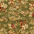 Safavieh Lyndhurst Collection Floral Sage Rug Polypropylene, 5'-3in. x 7'-6in.
