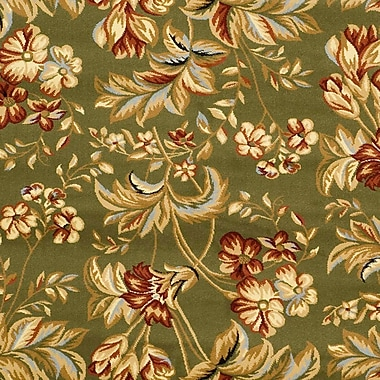 Safavieh Lyndhurst Collection Floral Sage Rug Polypropylene, 5'-3