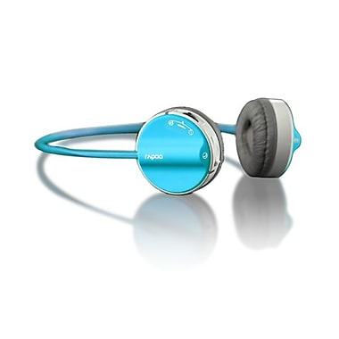 Rapoo Bluetooth Stereo Fashion Headset, Blue