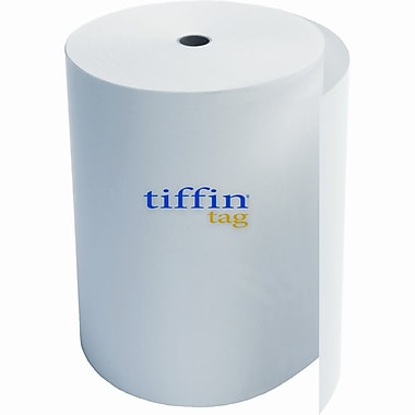 Glatfelter® Tiffin Tag® 100 lbs. Carbonless & Speciality Uncoated Roll, 9.5