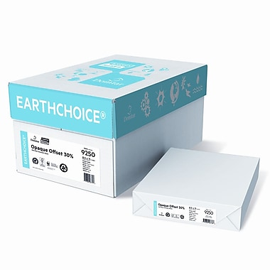 Domtar EarthChoice® Opaque Offset 120M 60 lbs. Smooth Cover, 8.5