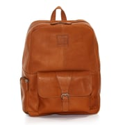 Jill-e Designs™ Jack Hemingway Leather Backpack For 15 Laptop, Tan
