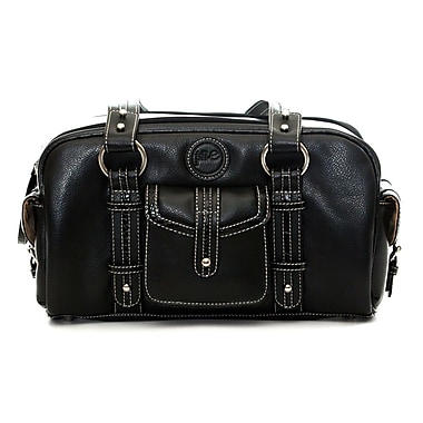 Jill-E Designs Leather DSLR Camera Bag, Small, Black
