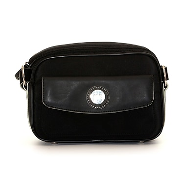 Jill-e Designs™ Nylon Compact System Camera Bag, Black