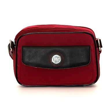 Jill-E Designs Microfiber Compact System Camera Bag, Red