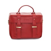 Jill-e Designs™ Juliette All Leather DSLR Camera Bag, Red
