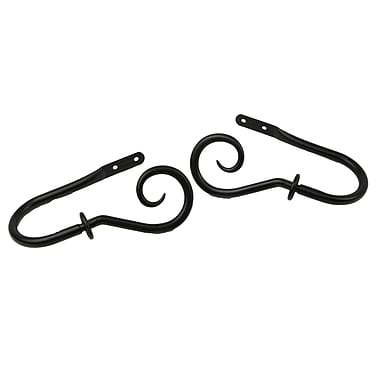 Rod Desyne Steel & Metal Decorative Holdback Pair