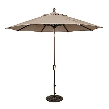 Swim Time™ Catalina II 9' Octagonal Market Umbrellas With Auto-Tilt