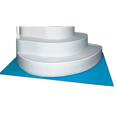 Horizon Ventures 4' x 5' Deluxe In-Pool Ladder/Step Liner Pad, Blue